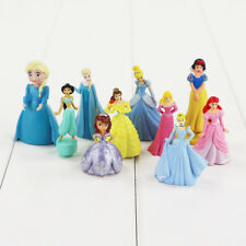 Disney Princess Figures Toy Cake Toppers Frozen Jasmine Kids Party Bag Filler