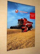 Prospectus Moissonneuse LAVERDA M Tracteur prospekt traktor tractor Trattore