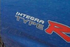 Honda Integra DC5 Type R OEM Red x 2 Side + Centre Cap Stickers - DARK CARS