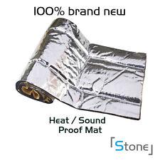 """Car Door Bonnet Firewall Muffler Sound Deadener Insulation Proof 18""""x39"""" 5 sqft"""