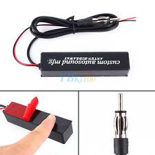 Nuevo 12V Universal Antena Coche Interior Electrónica Radio AM/ FM Amplificador