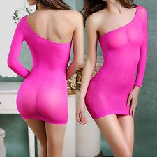 Sexy silk Lingerie Sleepwear Nightwear Underwea Stripper Babydoll Dress Chemises