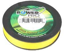 PowerPro Fishing Braid - 300yd 53lb Yellow Power Pro
