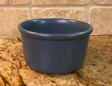 Chantal ~ 1 1/2 Cup Crock Deep Dish Casserole Round Bake Blue
