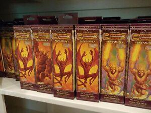 DDM Dungeons & Dragons Miniatures ANGELFIRE Booster Packs *NIB*
