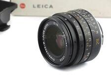 Obiettivi Leica per fotografia e video F/2.0