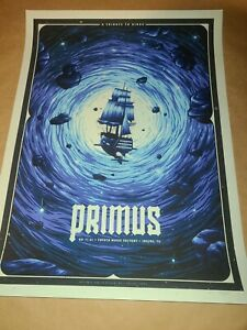Primus Poster Irving Tribute To Kings 2021