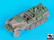 Black Dog 1/35 Sd.Kfz.10 Half-track Stowage and Accessories Set (Dragon) T35155