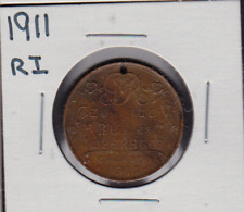 1911 RI King George V/Queen Mary Coronation Medal