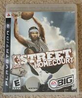 NBA Street: Homecourt (Sony PlayStation 3 PS3, 2007) Complete CIB EA Video Game