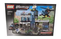 City Police SWAT Station Building Brick Set - 566pcs - COMPATIBLE