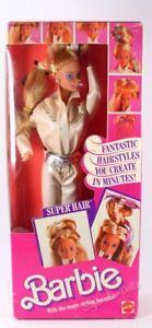 1986 Super Hair Barbie Doll