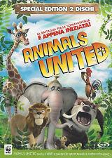 2 Dvd **ANIMALS UNITED** Ediz. Speciale 2 dischi Slipcase nuovo sigillato 2011