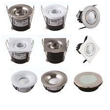 LED Einbaustrahler Minispot Spot Einbau Einbauleuchte Minileuchte 1W 2W 3W