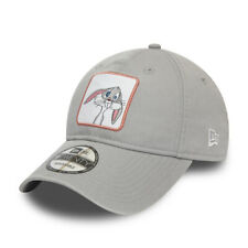NEW ERA LOONEY TUNES 9TWENTY BASEBALL CAP. BUGS BUNNY STRAPBACK GREY HAT S20
