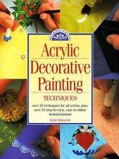 Acrylic Decorative Painting Techniques, Edwards, Sybil, 0891347836, Book, Good