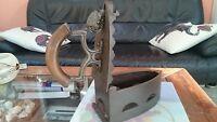 XXL authentic original vintage iron Bügeleisen Gusseisen Antik German Germany