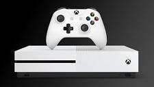 Official Genuine Microsoft Xbox One S White 500GB Console System