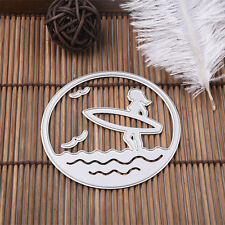 Beach  Metal Cutting Dies Stencil For Scrapbooking Paper Cards Decor Crafts New
