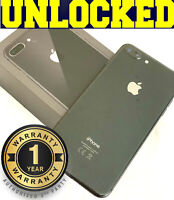 Apple iPhone 8 Plus 64GB Space Gray (UNLOCKED) VERIZON│AT&T│T-Mobile│✱O/B✱ (w)