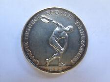 LAHORE DISTRICT SPORTS TOURNAMENT ROYAL BERKSHIRE REG STERLING SILVER MEDAL 1933