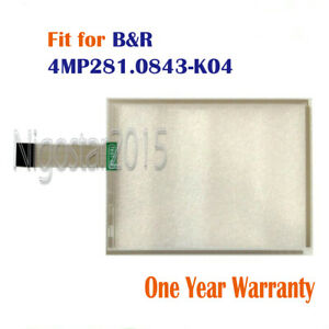 New for B&R 4MP281.0843-K04  4MP281.0843-K04 Touch Screen Glass 1 Year Warranty