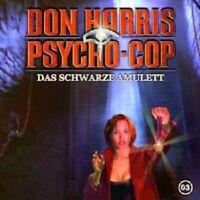 DON HARRIS-PSYCHO COP - 03: DAS SCHWARZE AMULETT  CD  16 TRACKS HÖRSPIEL  NEW
