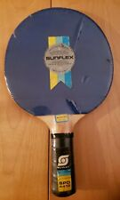 New Sunflex Table Tennis Paddle Navy Blue