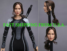 1/6 Female Head Sculpt For The Hunger Game For PHICEN Hot Toys Figure ❶USA❶