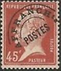 "FRANCE PREOBLITERE TIMBRE STAMP N° 67 "" TYPE PASTEUR 45C ROUGE "" NEUF (x) TB"
