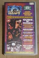 HARD N' HEAVY - Volume 13 (Guns n Roses, Faith No More)  ~VHS~ *Video Cassette*