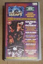 HARD N' HEAVY - Volume 13 (Guns n Roses, Faith No More)  ~VHS~ *Video Cassette*