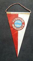 *Rarität* Alter Wimpel FC Bayern München Deutscher Fussball Rekordmeister FCB
