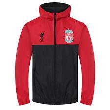 Liverpool FC Official Football Gift Boys Shower Jacket Windbreaker
