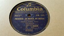 HEDDLE NASH FREERICA OH MAIDEN MY MAIDEN & FREDERICA WAYSIDE ROSE COL DX115