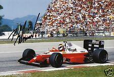 "F1 Driver Formula One Bernd Schneider Hand Signed Photo Autograph 12x8"" AB"