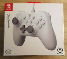 BRAND NEW Genuine PowerA - Wired Controller for Nintendo Switch - White
