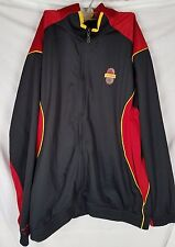 Adidas Clima365 Jacket Tmac Tracy Mcgrady black red zipper mens size XL