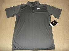 NWT Nike BOY'S Team Court Tennis Polo Shirt 642071-010 New Large