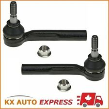 2X FRONT OUTER TIE ROD END FOR CHEVROLET MALIBU 2007 2008 2009 2010 2011 2012