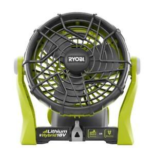 New Ryobi P3320 - 18-Volt Hybrid Portable Fan (Tool Only)