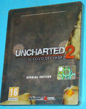 Uncharted 2 Il Covo dei Ladri - Steelbook - Sony Playstation 3 PS3 PAL