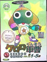 Sgt. Frog (Keroro Gunso Movie 1 2 3 4 5 Collection) ~ 2-DVD ~ English Subtitle