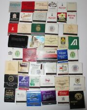 More details for vintage  usa  advertising matchbooks fair condition  lot of 47 -pl-3747