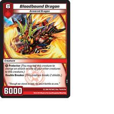 Kaijudo 3X BLOODBOUND DRAGON Uncommon #92/160 13GAU (Playset) Quest Gauntlet