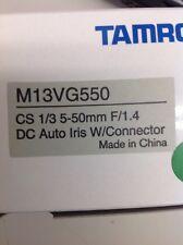 "Tamron - M13VG550 - CCTV - Lens - 1/3"", 5-50mm, Auto-Iris, f/1.4, CS Mount"