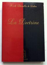 """TRES RARE """"LA DOCTRINE"""" - SCHWALLER DE LUBICZ - AXIS MUNDI 1990"""