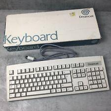 Sega Dreamcast UK Keyboard - Boxed (Official) UK Version QWERTY Model HKT-7630