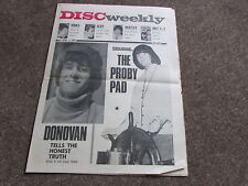 DISC Weekly Music Magazine 03/04/65  inc BEATLES   PJ Proby Donovan  KINKS  etc