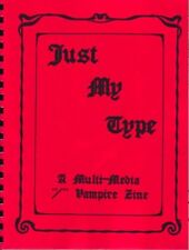 "Multi-Media ""Just My Type #1, #2"" SLASH Vampires"